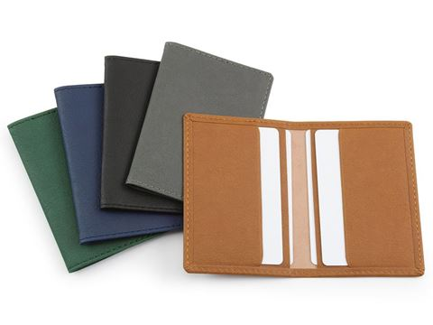 Picture of BioD Biodegradable Credit Card Case in a choice 6 Colours.