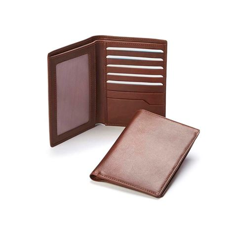 Picture of Accent Sandringham Nappa Leather Colours, Deluxe Passport Wallet