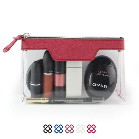 Picture of Como Triangular Zipped Travel or Toiletry Bag