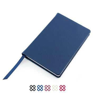 Picture of Pocket Casebound Notebook, choose from 5 colours in vegan Recycled Como.