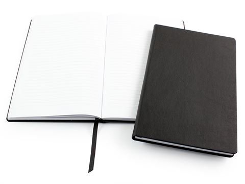 Picture of Biodegradable A5 Casebound Notebook