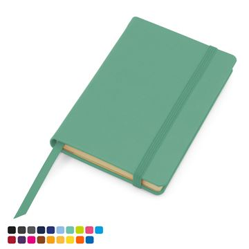 Picture of Torino Vegan Soft Touch Pocket Casebound Notebook with Elastic Strap
