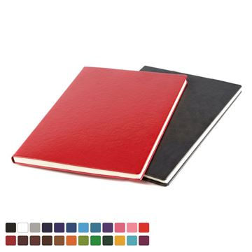 Picture of A4 Casebound Notebook choose from 20 colours in vegan Belluno.