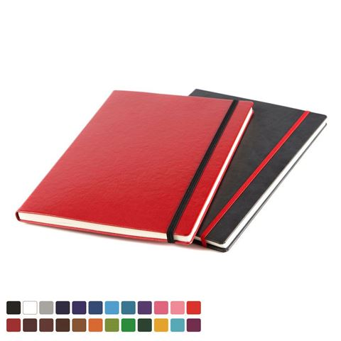 Picture of Mix & Match A4 Belluno Casebound Notebook in thousands of colour combinations.