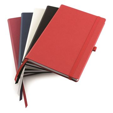 Picture of Deluxe Recycled Como A5 Casebound Notebook