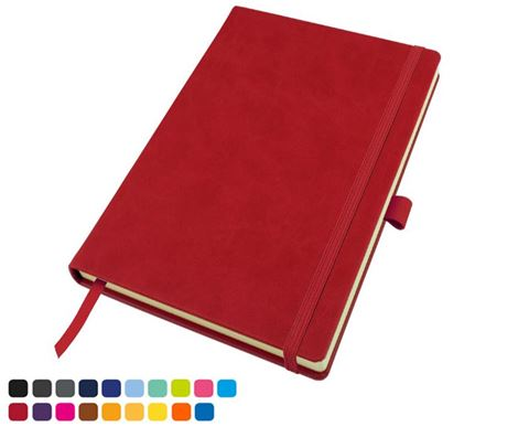 Picture of Torino vegan Soft Touch Deluxe Mix & Match A5 Casebound Notebook