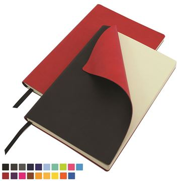 Picture of Torino Vegan Soft Touch A5 Flexi Notebook