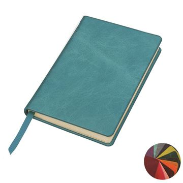 Picture of Kensington Distressed Leather Pocket Casebound Notebook