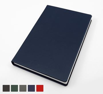 Picture of Recyco 99% Recycled Pocket Casebound Notebook in 5 Colours