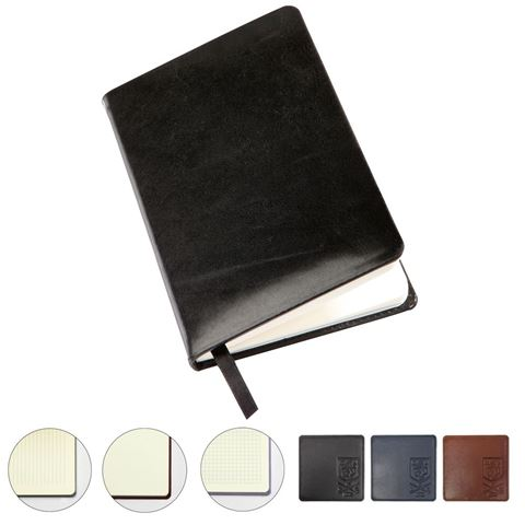 Picture of Sandringham Nappa Leather Colours, Pocket Casebound Notebook