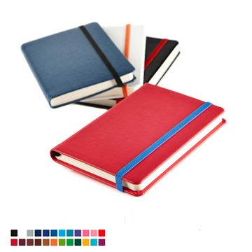Picture of Mix & Match Pocket Belluno Casebound Notebook in thousands of colours combinations.