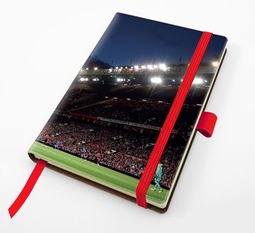 Picture of Designer Pocket Casebound Notebook with Elastic Strap & Pen Loop