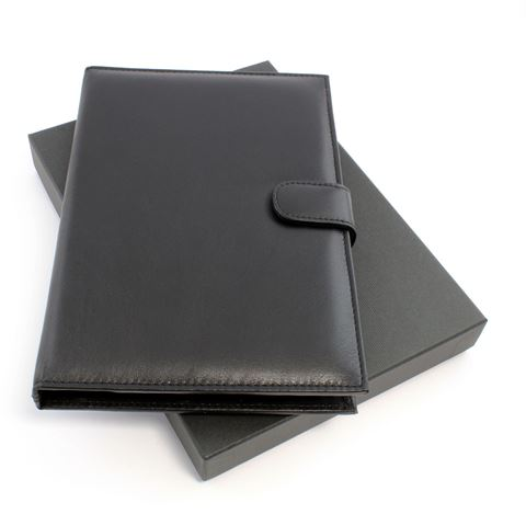 Picture of Sandringham Nappa Leather Notebook Jacket