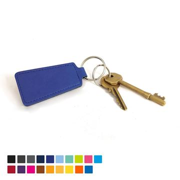 Picture of Economy Trapeze Key Fob in Soft Touch Vegan Torino PU.