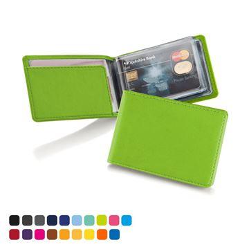 Picture of Torino matt velvet vegan PU, Deluxe Credit Card Case for 6-8 Cards.