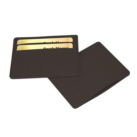 Picture of Deluxe Slimline Credit Card Case in Black Belluno