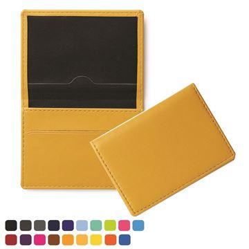 Picture of Oyster Travel Card Case , choose from of 19 contemporary colours, in vegan matt velvet Torino.