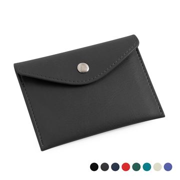 Picture of  Recycled Eleather Business Card Case, made in the UK in a choice of 8 colours.