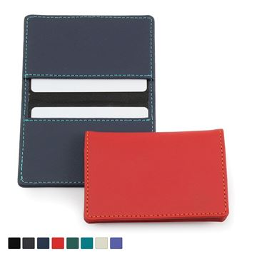 Picture of Recycled Eleather Card Case, made in the UK in a choice of 8 colours.