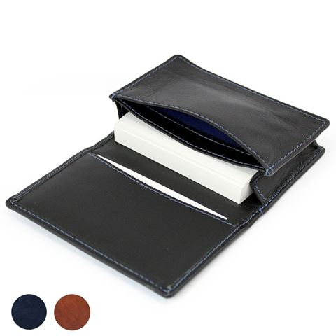 Picture of Accent Sandringham Nappa Leather Business Card Case