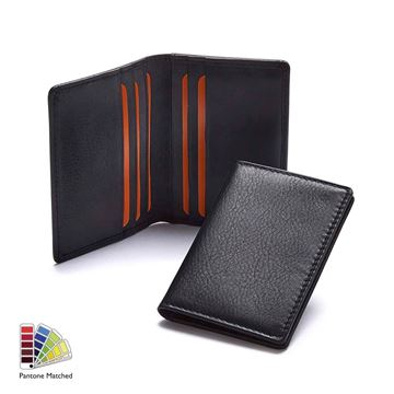 Picture of Sandringham Nappa Leather Slim Credit Card Wallet made to order in any Pantone Colour