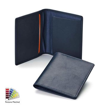 Picture of Sandringham Nappa Leather  Slimline City Wallet made to order in any Pantone Colour