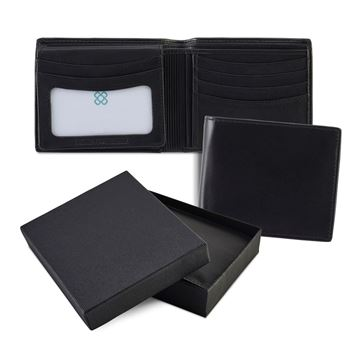 Picture of Sandringham Nappa Leather Deluxe Billfold Wallet