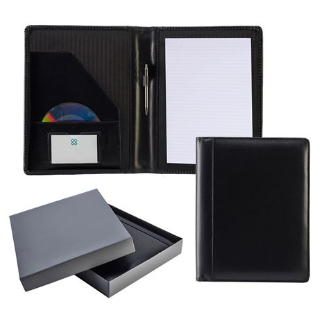 Picture of Ascot Leather A4 Deluxe Folder