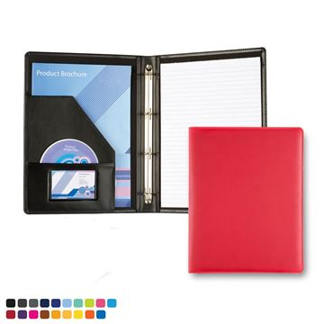 Picture of A4 Slim Ring Binder in Soft Touch Vegan Torino PU.