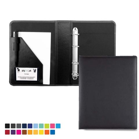 Picture of A5 Ring Binder in Soft Touch Vegan Torino PU.