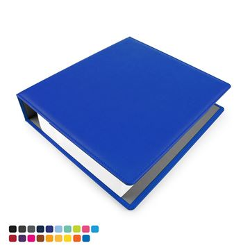 Picture of A4 Extra Wide Ring Binder in Soft Touch Vegan Torino PU.