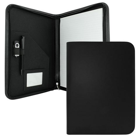 Picture of Clapham PU A4 Zipped Conference Folder