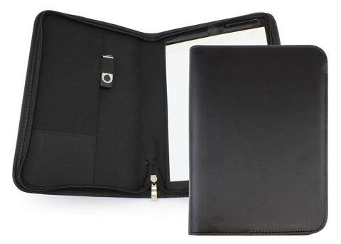 Picture of Clapham PU A5 Zipped Conference Folder