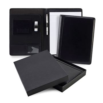 Picture of Sandringham Nappa Leather A4 Conference Pad Holder