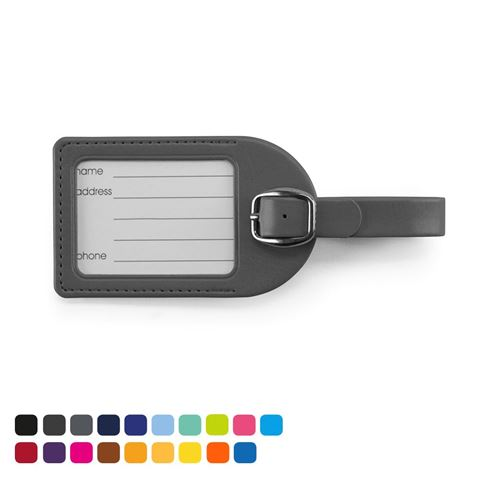Picture of Small Luggage Tag in Soft Touch Vegan Torino PU.