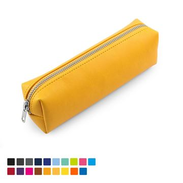 Picture of Pencil or Cosmetics Case in Soft Touch Vegan Torino PU.