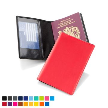 Picture of Passport Wallet in Soft Touch Vegan Torino PU.
