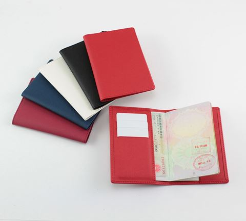 Picture of Passport Wallet in recycled Como, a quality vegan PU.