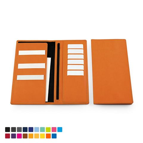 Picture of Deluxe Travel Wallet in Soft Touch Vegan Torino PU.