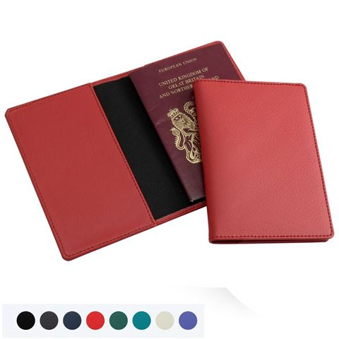 Picture of Recycled ELeather Passport Wallet
