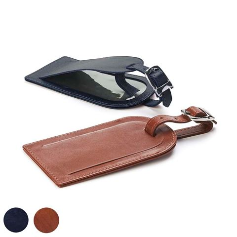 Picture of Luggage Tag in Accent Sandringham Nappa Leather Colours