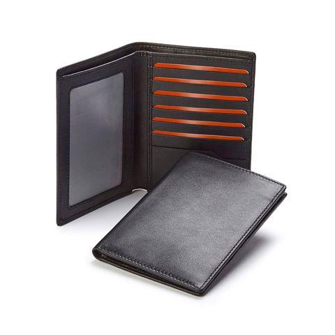 Picture of Sandringham Nappa Leather Deluxe Passport Wallet