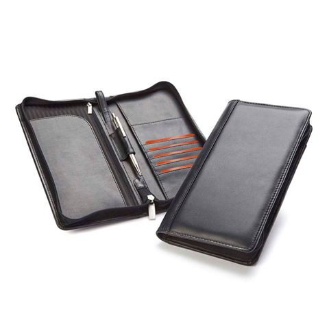 Picture of Sandringham Nappa Leather Zipped Travel Wallet