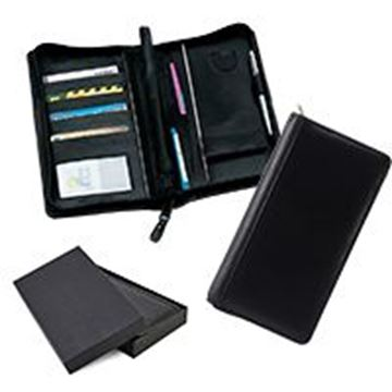 Picture of Sandringham Nappa Leather Deluxe Zipped Travel Wallet