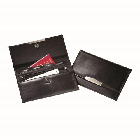 Picture of Sandringham Nappa Leather Envelope Travel Wallet