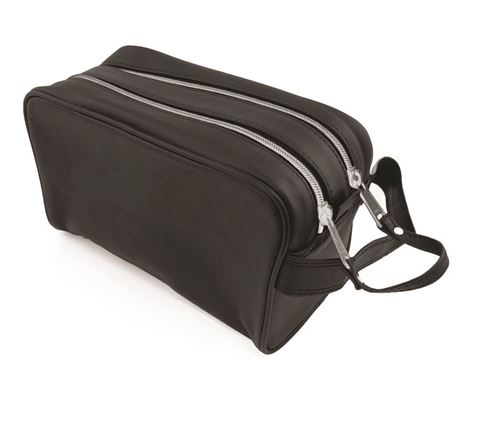 Picture of Sandringham Nappa Leather Wash Bag