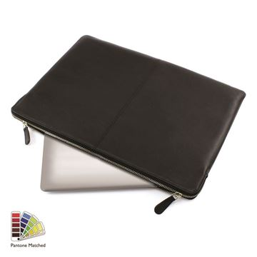 Picture of Pantone Matched Sandringham Leather Lap Top Case