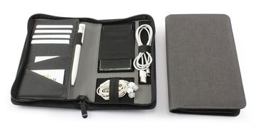 Picture of JTec Deluxe Zipped Travel Wallet with RFiD & Tech Pockets.