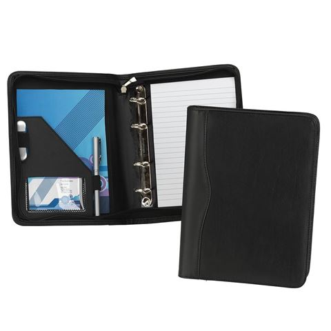 Picture of Houghton A5 Zipped Ring Binder