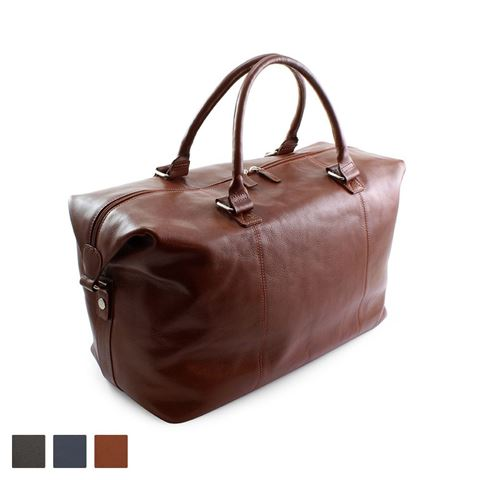 Picture of Accent Colours Sandringham Nappa Leather Weekender Bag
